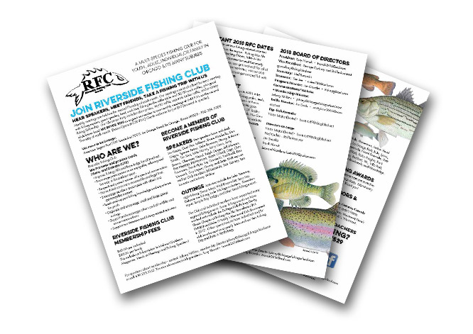 Download Our Fishing Club Brochure